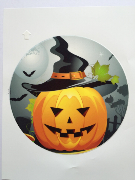 Edible cake toppers decoration - Halloween cake top